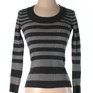 Ambiance Apparel | ribbed striped sweater